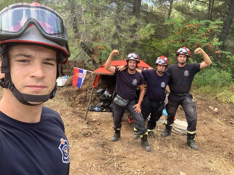 Mitrovački vatrogasci u borbi sa velikim požarima u Grčkoj